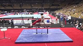 Brandon Nguyen - Pommel Horse – 2018 U.S. Gymnastics Championships – Junior Men Day 1