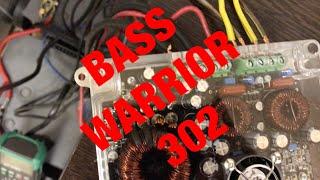 BASS WARRIOR 302 мощнейший Российский усилитель