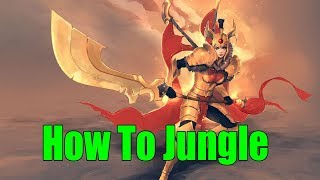 DoTa 2 How To Jungle Legion Commander Patch 7.22g