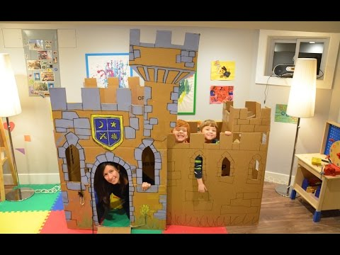 Thumbnail: Build a Cardboard Castle Fort