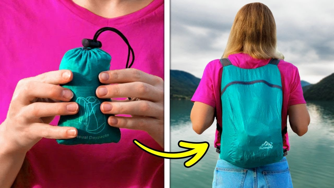 32 Smart Outdoor Gadgets And Hack You Wish You Knew Before | TRAVEL AND CAMPING HACKS