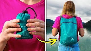 32 Smart Outdoor Gadgets And Hack You Wish You Knew Before || TRAVEL AND CAMPING HACKS