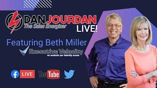 Developing Sales Leaders During Uncertain Times:  Dan Jourdan LIVE!
