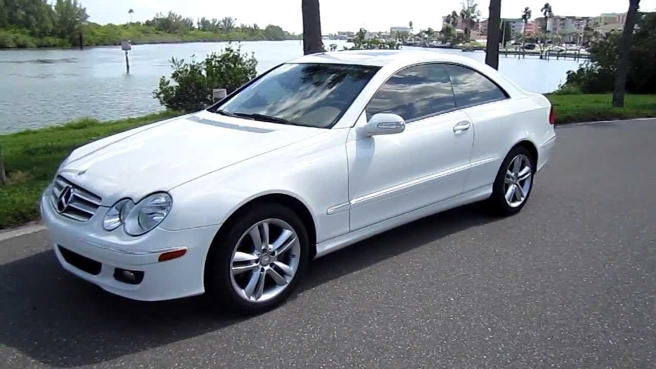 Sold 2008 mercedes clk 350 base coupe 53k miles navigation for 2008 mercedes benz clk class clk 350 cabriolet
