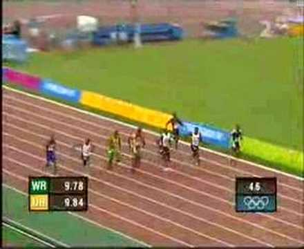 2004 Olympic Mens 100m Final