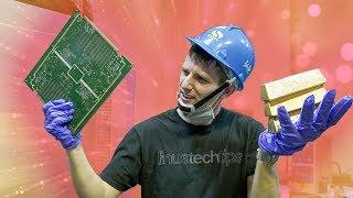 Turning SCRAP Electronics into GOLD BARS!