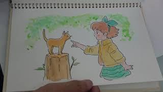 佐藤好春さんのスケッチブックを見せてもらいました。素敵な水彩のイラストを御覧ください。下記のWEBサイトでもオリジナルイラストがご覧い...