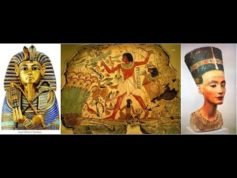 Examples of ancient Egyptian art