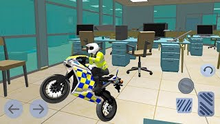 Office Bike Driving Simulator - Police Motorbikes - Android Gameplay FHD