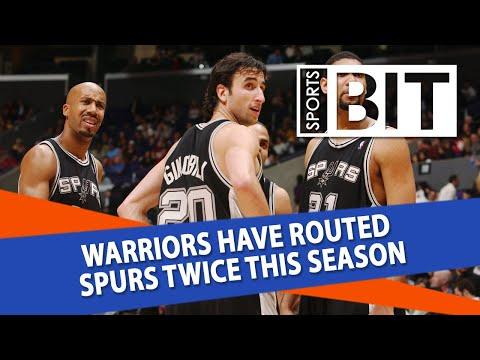 San Antonio Spurs at Golden State Warriors   Sports BIT   NBA Picks