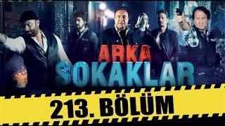 ARKA SOKAKLAR 213. BÖLÜM  FULL HD