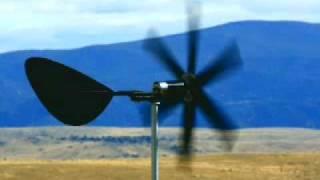 Treadmill Motor Wind Turbine 3 Steel Banded Blades Reinforced Pvc Dc Generator