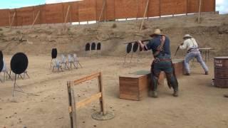 SASS Western Divisional 2016 - Shoot off - Shotgun Boogie vs Smokestack