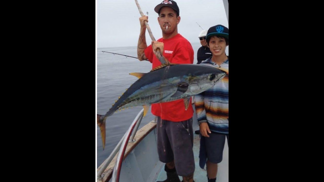 Yellowfin tuna fishing l newport landing l nautilus youtube for Newport landing fish report