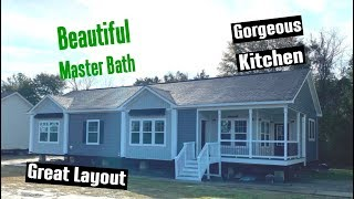 Absolutely Beautiful Double Wide Mobile Home   Sourthern Belle 32x66 By Clayton Homes