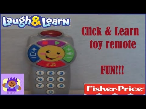 2011 Fisher Price Laugh & Learn Click N' Learn Toy Remote