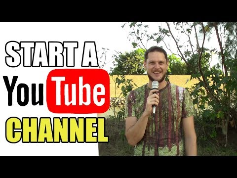 How and why to start a YouTube channel