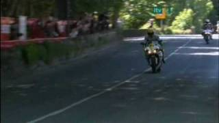 Valentino Rossi at the Isle Of Man TT 2009