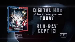 Marvel's Captain America: Civil War Arrives on Digital HD Sep 2nd!