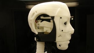 THE INCREDIBLE 3D printed robot InMoov