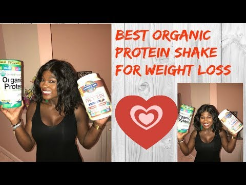 Best healthy protein shake for weight loss/Raw organic protein shake for weight loss