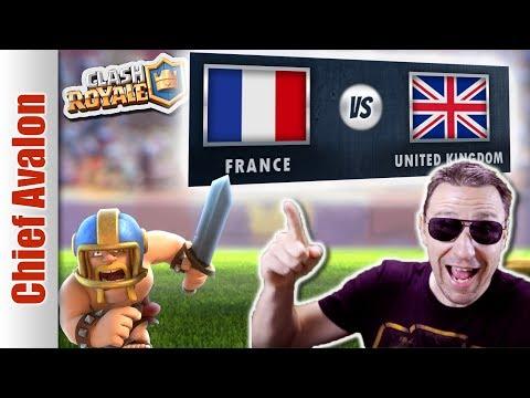 MGL WORLDS: FRANCE vs UNITED KINGDOM (UK) | Clash Royale eSports League