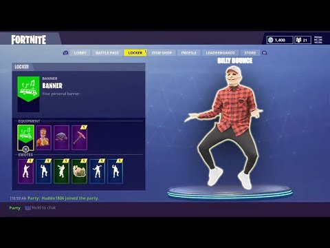BILLYBOUNCEMAN DOES FORTNITE DANCES PT.2 (Another New Dance?)👀