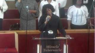 evangelist j m thomas turn message women day service