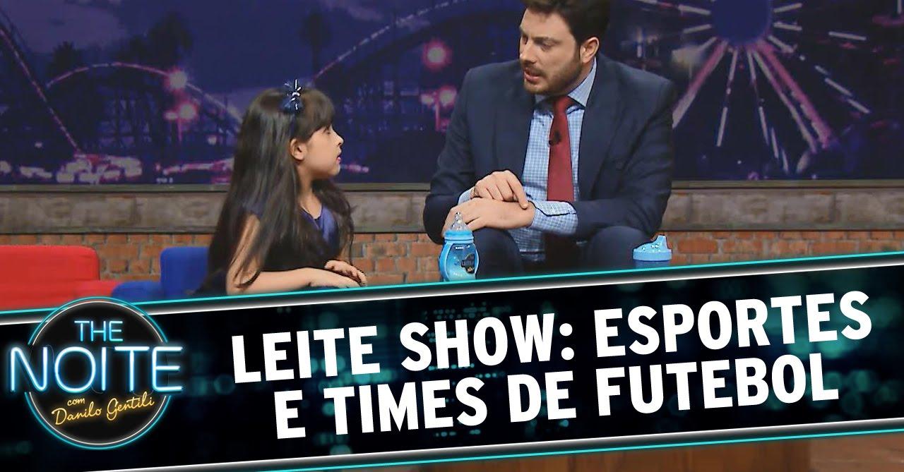 The Noite (27/11/14) - Leite Show: Esportes e Times de Futebol