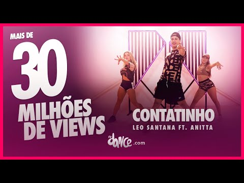Contatinho - Leo Santana ft Anitta  FitDance TV Coreografia