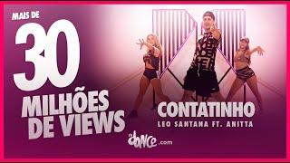 Contatinho - Leo Santana ft. Anitta | FitDance TV (Coreografia Oficial)
