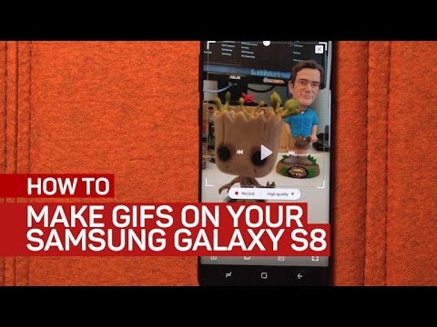 Make GIFs easily on the Galaxy S8