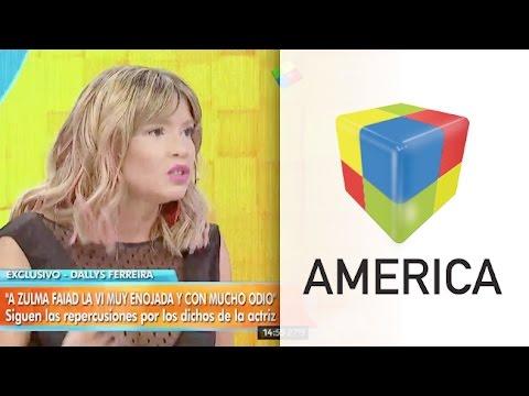 Dallys Ferreira le respondió a Zulma Faiad por sus expresiones contra los paraguayos