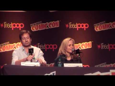 NYCC 2013 XFPanel with Gillian Anderson & David Duchovny
