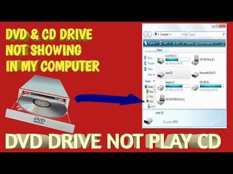 Cd Rom Not Detected In Pc    Dvd Drive Mein Cd Play Nanhi Ho Raha H