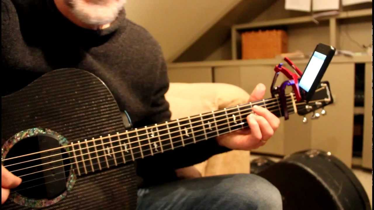 how to make a capo with a shoelace