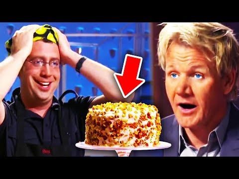 Top 10 Gordon Ramsay DESSERT MOMENTS!
