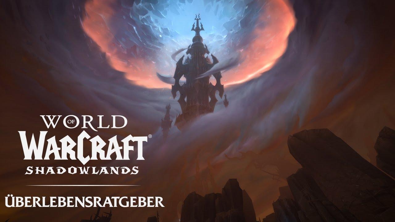 Shadowlands: Überlebensratgeber - Live am 24. November!