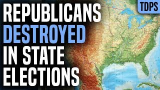 Republicans DESTROYED in State Elections, PANICKING