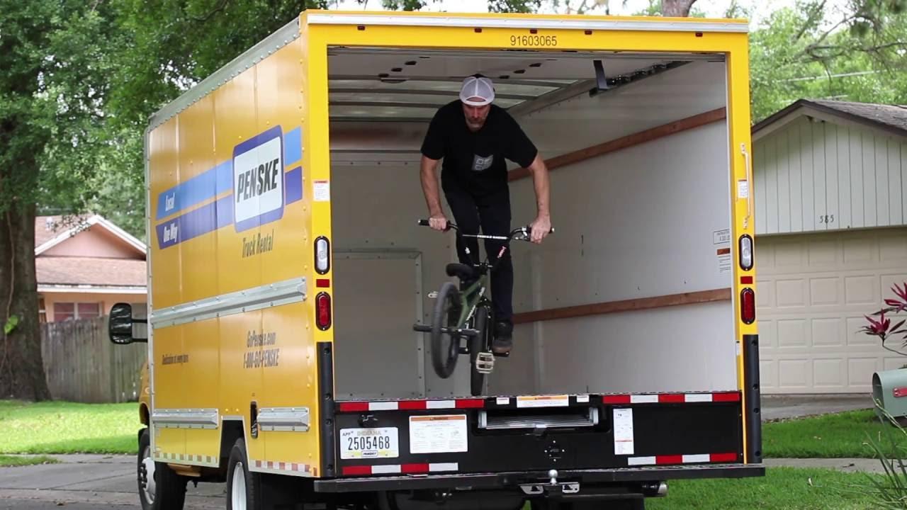 Chad Degroot Deco Day Inside A Penske Truck Youtube