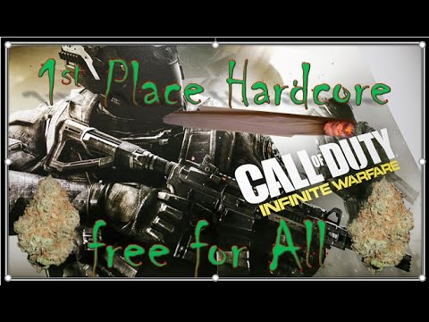 1st Place Hardcore Free For All Infinite Warfare Call Of Duty
