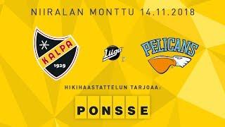 KalPa - Pelicans, 14.11.2018, hikihaastattelu: Sami Kapanen ja Toni Hyvärinen