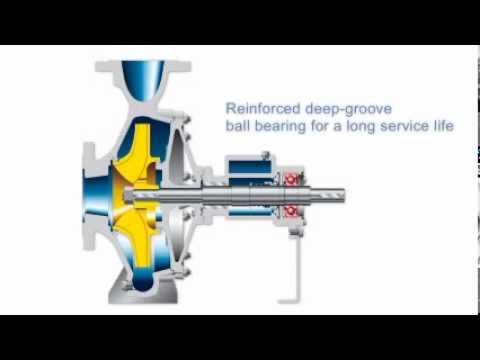 KSB_Etanorm Thermal Oil Pump in detail