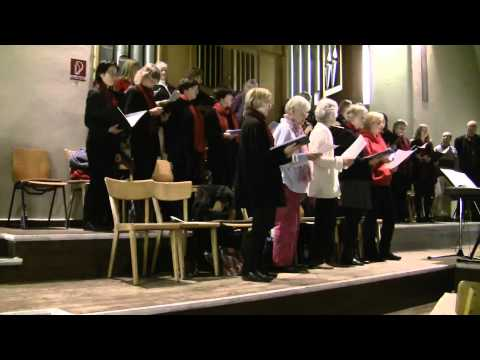 Folk from Norway: Den store hvite flokk with two choirs (Oslo and Berlin)