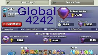 Legendary To Legendary Fight - Clash of Clans