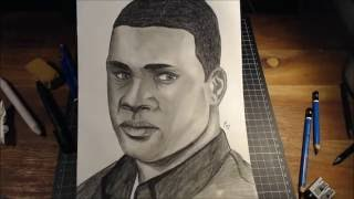 Speed Drawing Franklin from GTA 5!