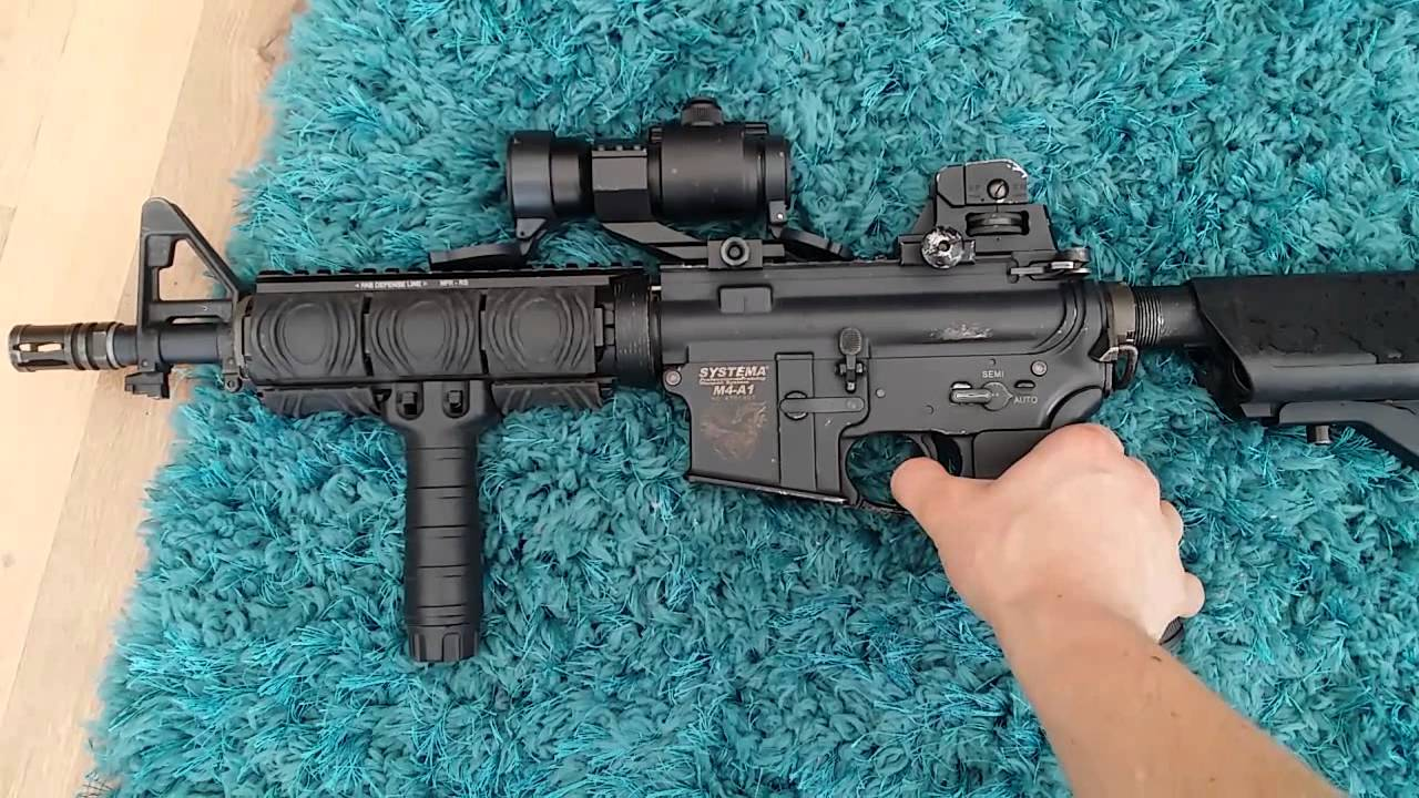 Systema ptw for sale Shaun182 test fire 2