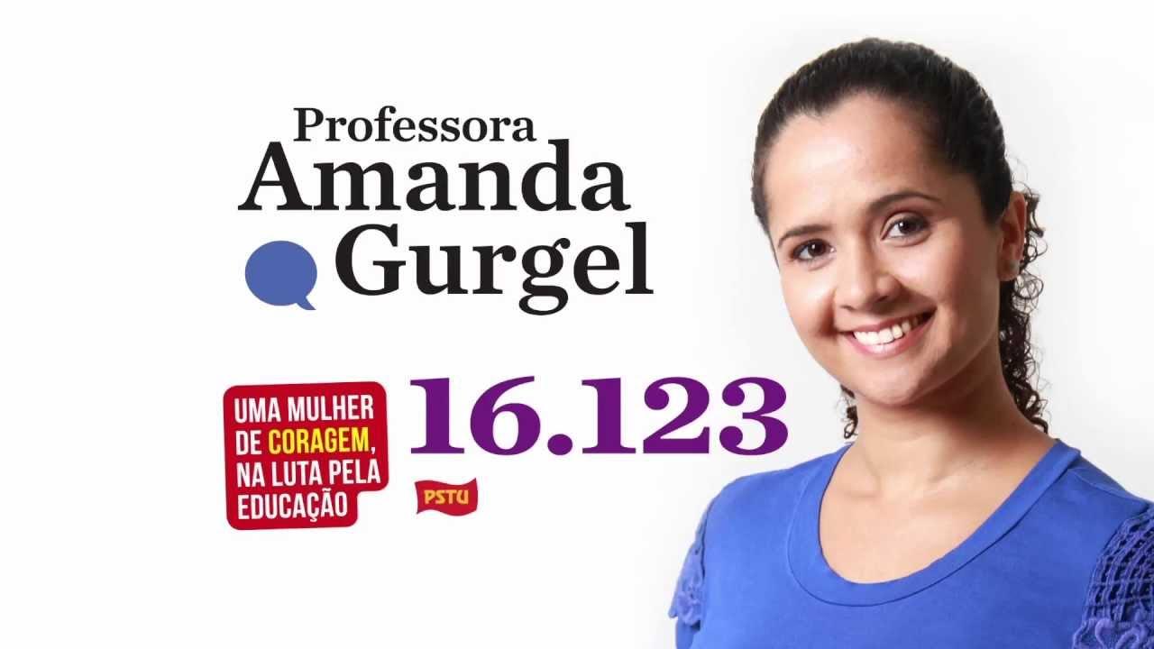 video da professora amanda gurgel