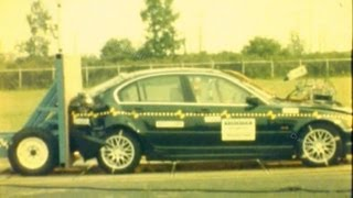 2000 BMW 328i | Rear Crash Test by NHTSA | CrashNet1