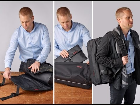 Henry CoPilot | World's first roll-up 2 bag system to keep clothes crease-free